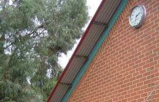 540mm Outdoor Clock, Roseville Public School NSW