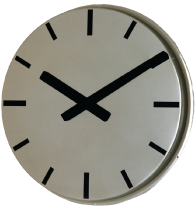 820mm Giant Outdoor Strokes Clock