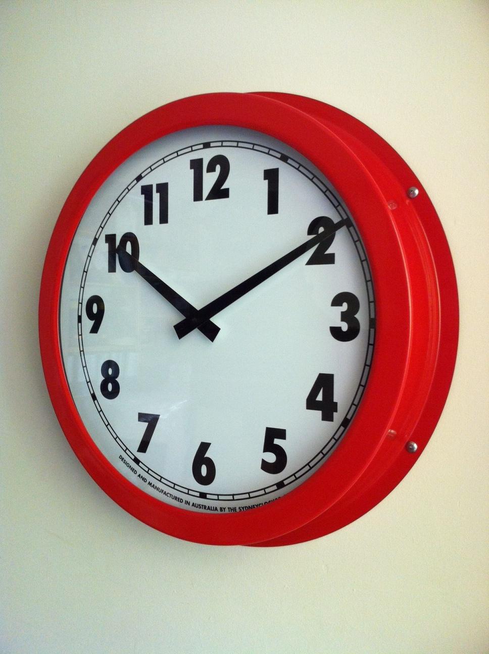 School Clocks Wall Amp Outdoor Australian Made Sydney