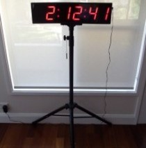 100mm Digit Clock/Timer/Stopwatch, Sydney Clock Company