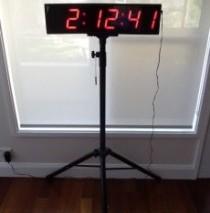 100mm Digit Clock/Timer/Stopwatch, Sydney Clock Company
