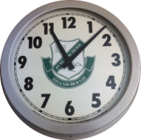 540MM Outdoor with Emblem clock, Sydney Clock Company